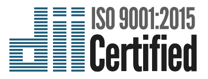 Doucette Industries Inc. is ISO 9001:2015 certified